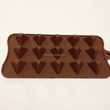 kitchen accessories Triangle tower Dining&Bar Candy&Pastry Head Silicone Chocolate Molds moulds