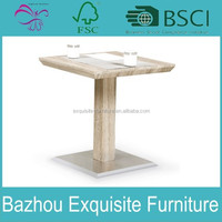 modern new design wooden top coffee table / dining table for sale