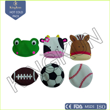 promotional gift cute samll gel cold and hot pack, hot sale children hand warmer
