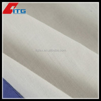 """35%COTTON 65%POLYESTER 2/1 59/60"""" 200GSM PLAIN DYED 20X20 108X58 COTTON TWILL"""