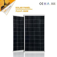 2015 new solar panel 150w poly per watt price
