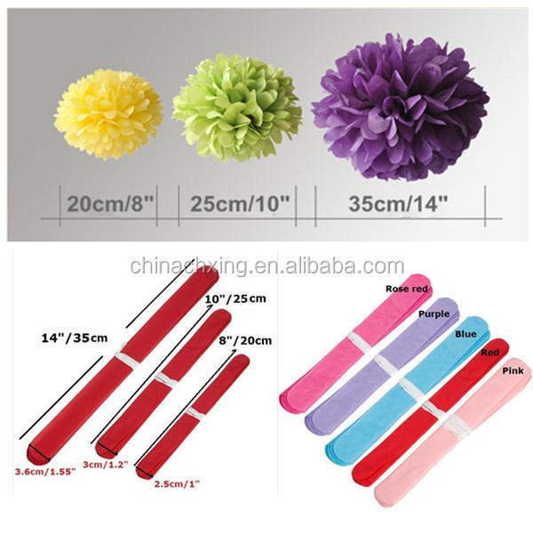 16inch 40cm tissue paper pom poms wedding party decoration craft qq20140619154337600g 1g mightylinksfo