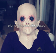 cheap halloween UFO latex Alien Head mask