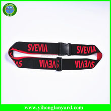 Lowest price Factory direct sale luggage straps/polyester luggage belt with your logo