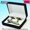 Promotion metal tie cufflink gift set
