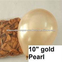 """Wholesale Pearl Plain Latex Balloons, Pearl Gold 10"""" Latex Balloons --14 color Wedding Party Decor Favor"""