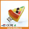 mouth watering pizza/Hamburger food shape USB memory disk