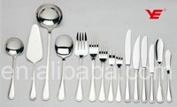 NO MOQ cutlery / stainless steel 18/10 bulk cutlery for buffet / types of hotel cutlery