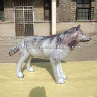 Wolf shape Inflatable helium Balloon for advertising