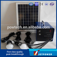 10W solar light system/home solar electricity generation system/solar green lighting systems