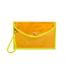 New style high quality customized promotional colorful cheap pvc plastic clutch bag