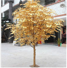 Ornementale intérieure plantes artificielles de banian bonsaï décoratif vivre ficus arbre