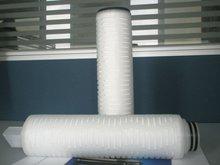 Hidrófilo polipropileno plisado cartucho del filtro
