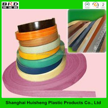 Popular plastic PVC laminated edge strips for furniture accessories