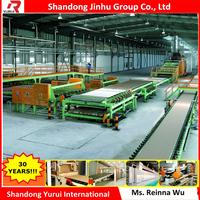gypsum board price /gypsum plasterboard machine line, germany type gypsum board production line