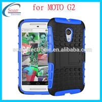 Tire line case for moto G2,for Moto G2 PC TPU case