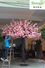 Well sale Exquisite workmanship artificial trees fake perfect dealing details flower tree