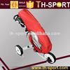 Red Golf Club Push Cart Rain Cover