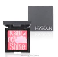 MYBOON Brand New Beauty Face Makeup Blush Blusher Palette Fine Powder 4 Colors Blozen Cheek Maquiagem Bronzer Colorete Pudr 10g