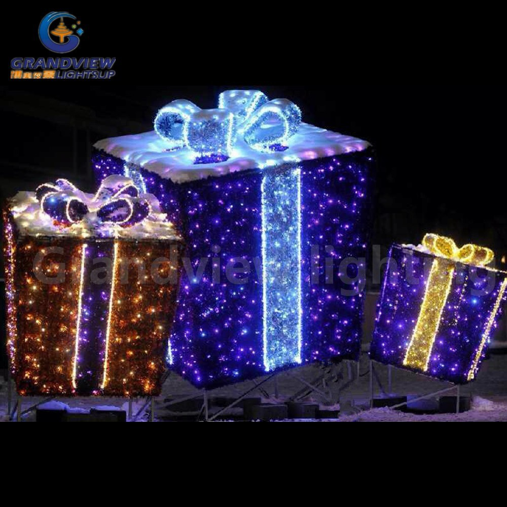 Lighted Gift Boxes Christmas Indoor 28 Images Light