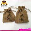 Wholesale Custom Jute Drawstring Burlap Bags / Jute Burlap Drawstring Bags