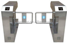 2 Way Auto Swing Security Gate swing turnstile barrier gate Standalone Access Control System