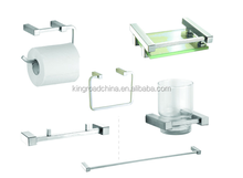 Fashionable 6 pcs set ss-11 Stainless Steel Bathroom Accessories