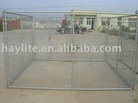 outdoor steel dog kennel