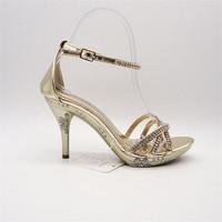 Manufacturer produce fashion grass green high heel shoes