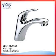 high quality chrome plated finished wash basin tap for cold water