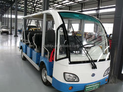 14 seats electric shuttle bus!!electric minibus with eec for sale!!