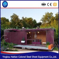Container House for officethe prefab house ,prefabricated container home
