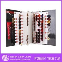 International OEM hair color chart color design hair color chart