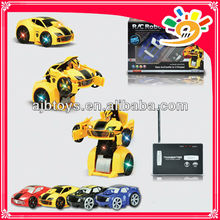 HOT SELLING 777-321 Wireless Can Be Out Of Robot Shape 2CH RC CAR