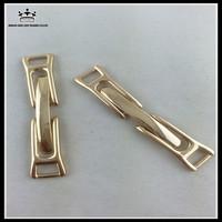 Wholesale lady metal shoe accessories shoe buckle chian