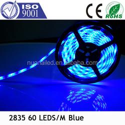 Flat LED light strip high power smd2835 ip67 blue colour