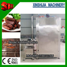 PLC control stainless steel Smoked furnace for beef and sausage 0086-15503713506
