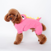 Hot Pet Dog Clothes Winter Clothes with 4 Legs Dog Hoodie Pet Dinosaur Turned Outfit