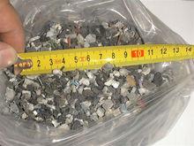 WEEE regrind unwashed greyblack recycled plastic scrap