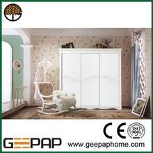 Hot sale Modern Design wall to wall sliding wardrobe doors