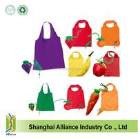 Wholesale fruit shape nylon foldable shopping bag/Promotional foldable shopping bag
