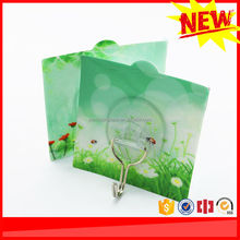 Wholesale cheap metal hook plastic funky wall clothes hanger