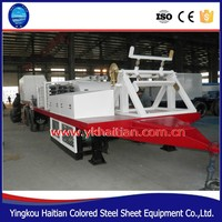 Steel Arch Plate Rolling Forming Machine