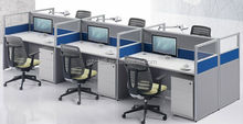 high quality modern design telemarketing workstation small office cubicle