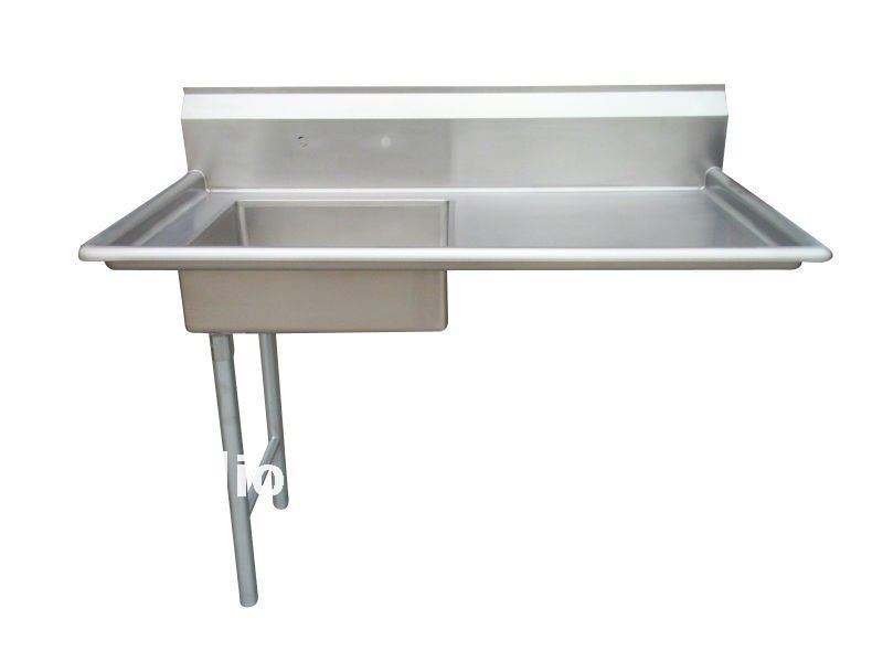 Stainless Sink Table : Stainless Steel Sink With Dish Table - Buy Large Stainless Steel Sinks ...