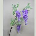 Artificial de glicina, venta caliente y de alta calidad de wisteria de flores de seda