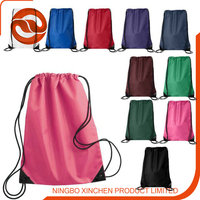 colorful drawstring backpack ,beach bag for outside