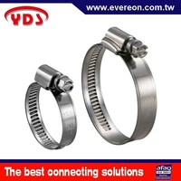 Stainless auto spare parts exhaust flexible pipe clamp hose