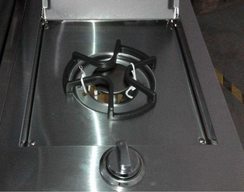 luxus!! outdoor-küche gerät! 4 wichtigsten gasbrenner grill mit ... - Gasbrenner Für Küche