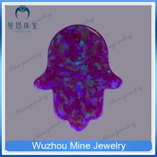fashion jewelry hamsa shape stone ethiopian opal rough wholesale